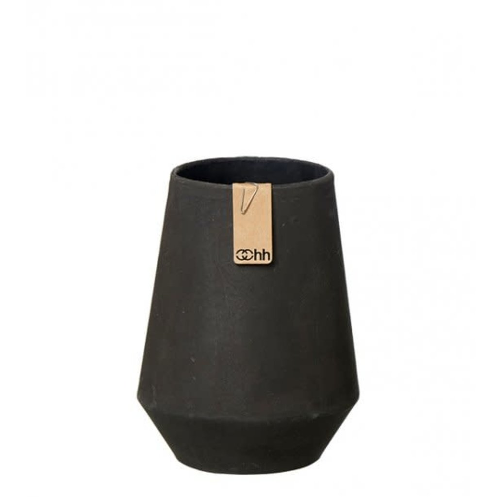 Oohh Tokyo Vase M , Zwart