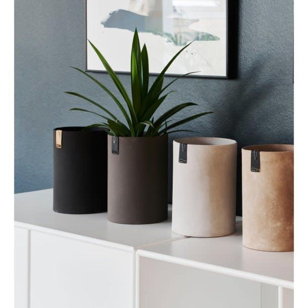 Oohh Tokyo cylinder vase, Zwart