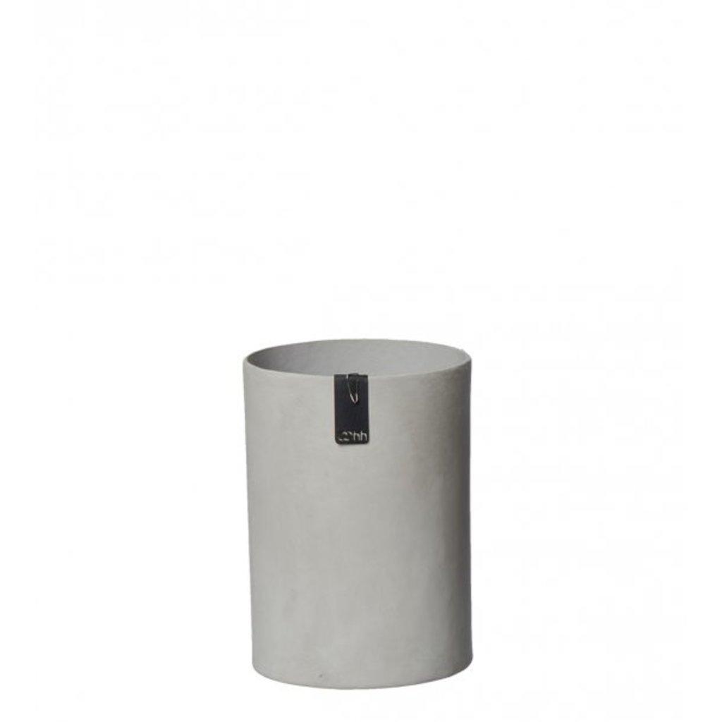 Oohh Tokyo cylinder vase, Grijs