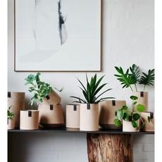 Oohh Tokyo cylinder vase, Taupe