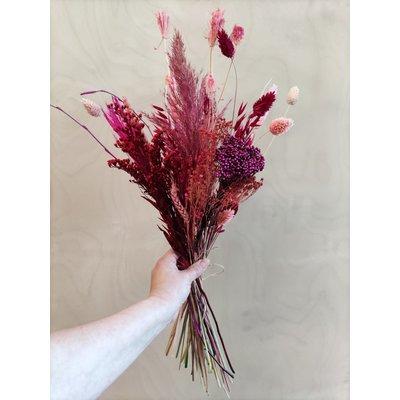 Wauw Flowers Boeket rood-roze