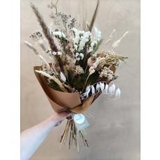 Wauw Flowers Boeket naturel-groen-wit