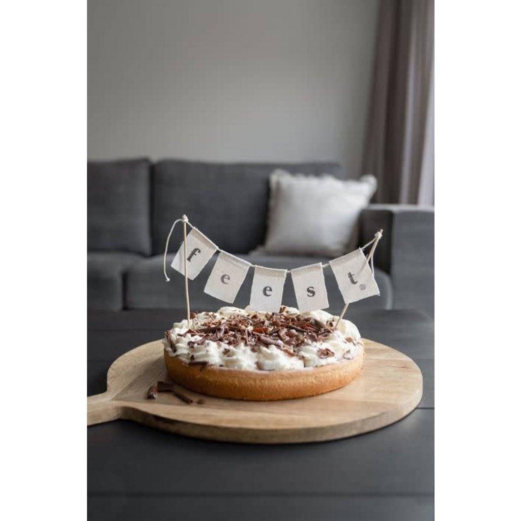 Zusss Katoenen taartslinger feest 60cm