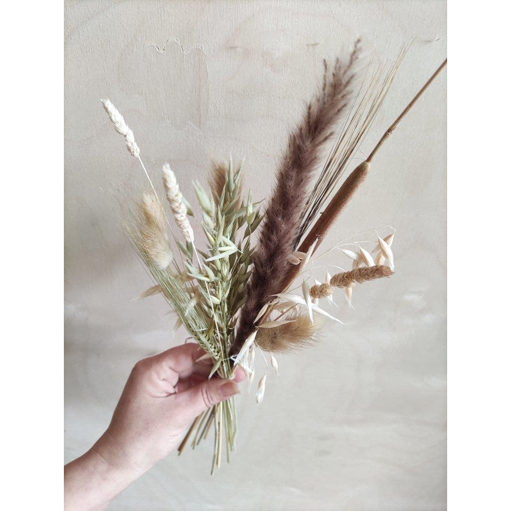 Wauw Flowers Boeket mini naturel