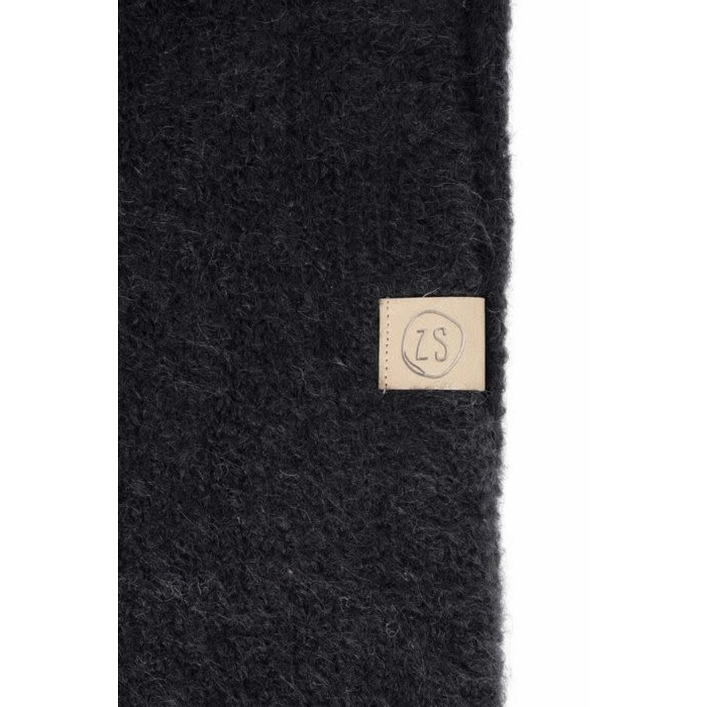 Zusss Sjaal met franjes zwart