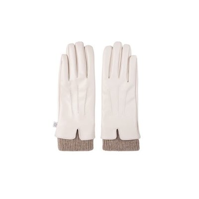 Zusss Fijne handschoen crème