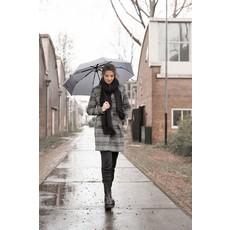 Zusss Paraplu invouwbaar tekst vier elke dag