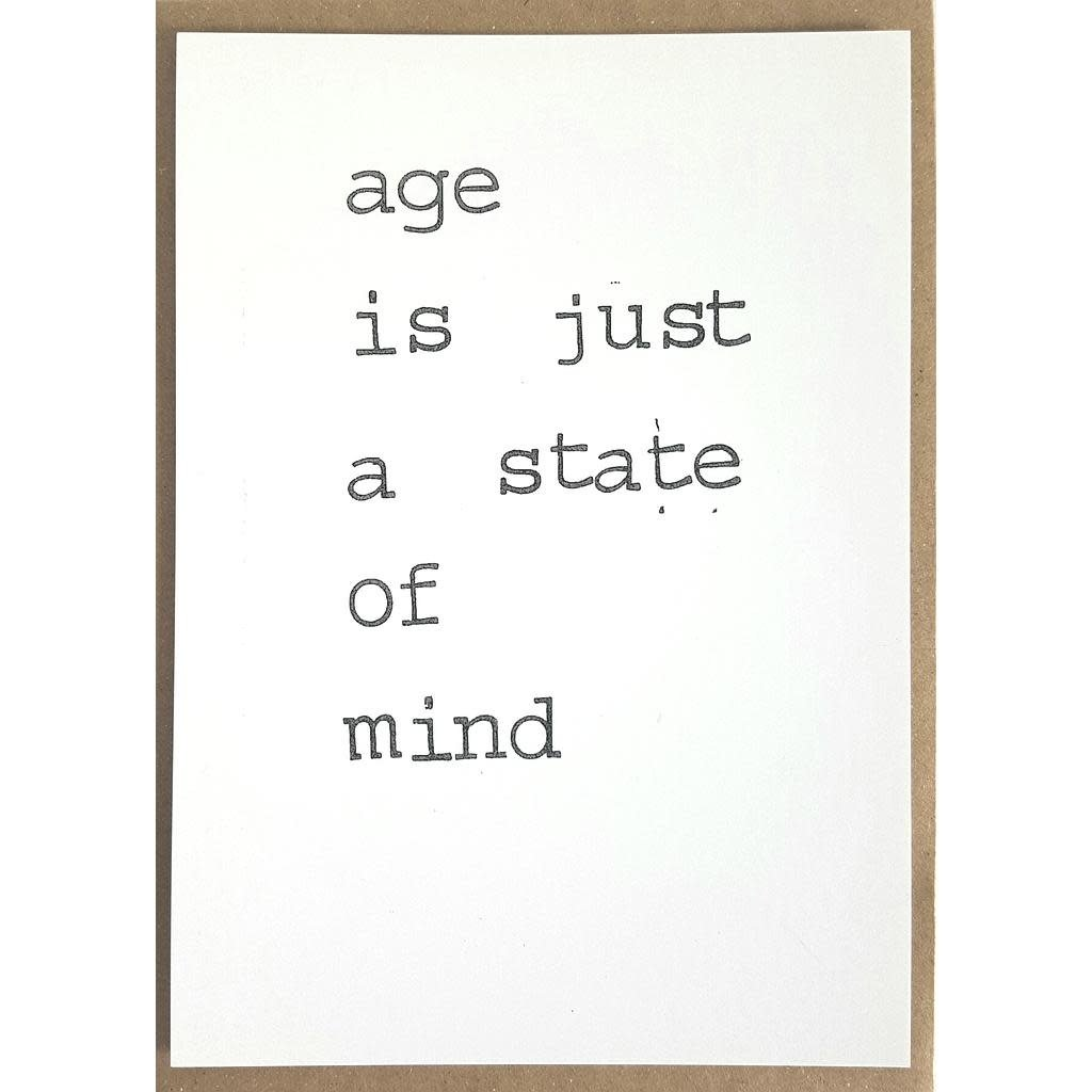 Postkaarten By Mar age is just a state of mind
