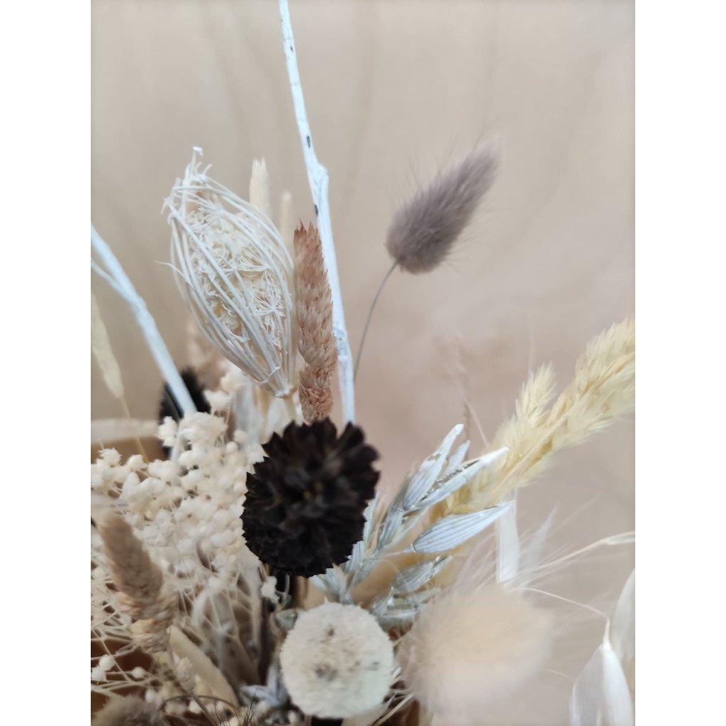 Wauw Flowers Boeket zwart wit