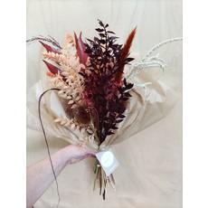 Wauw Flowers Boeket Bordeaux koper