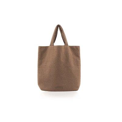 Monk & Anna Baya shopper | wool - Cacao