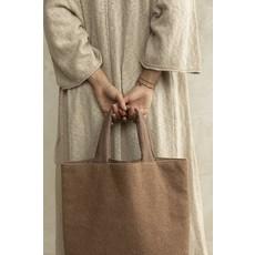 Monk & Anna Monk & Anna Baya shopper | wool - Cacao
