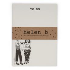 HelenB Blocnote heart hands