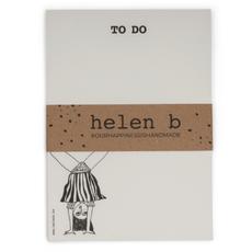 HelenB Blocnote feet up