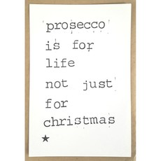 Postkaarten By Mar prosecco is for life
