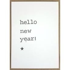 Postkaarten By Mar hello new year