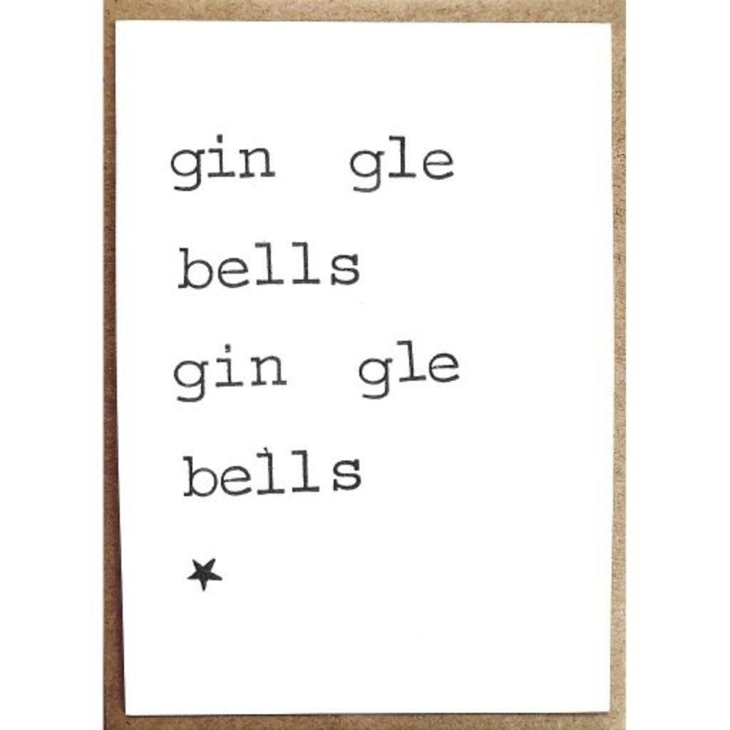 Postkaarten By Mar gin gle bells gin gle bells