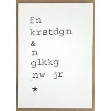 Postkaarten By Mar fn krstdgn & n glkkg nw jr