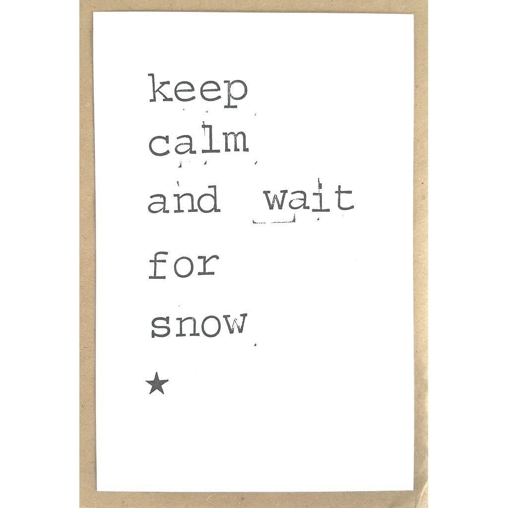 Postkaarten By Mar omdat ik je met kerst mis