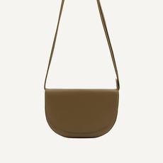 Monk & Anna Soma half moon bag | olive