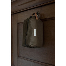 Monk & Anna Toiletry bag | linen - olive