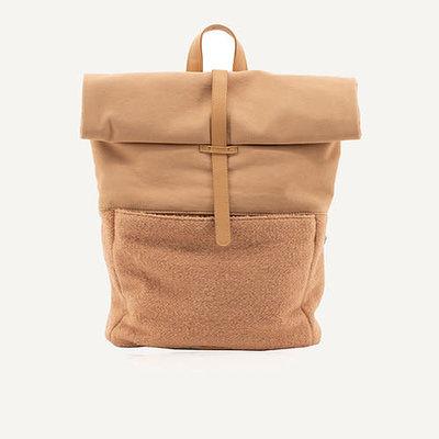 Monk & Anna Herb backpack | wool - cashew