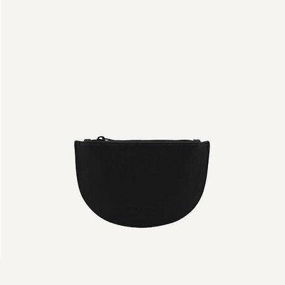 Monk & Anna Mondo half moon wallet - black