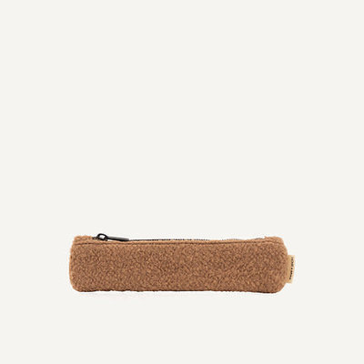 Monk & Anna Pencilcase | wool - cacao