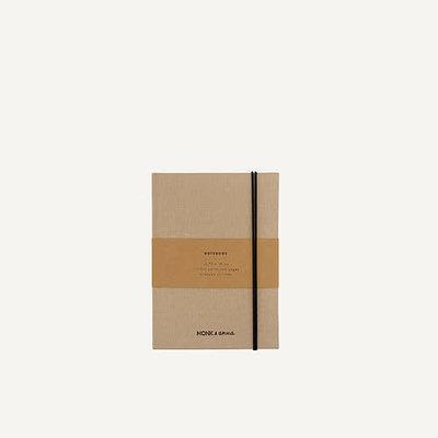 Monk & Anna Notebook S | linen - seashell