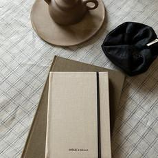 Monk & Anna Notebook S   linen - seashell