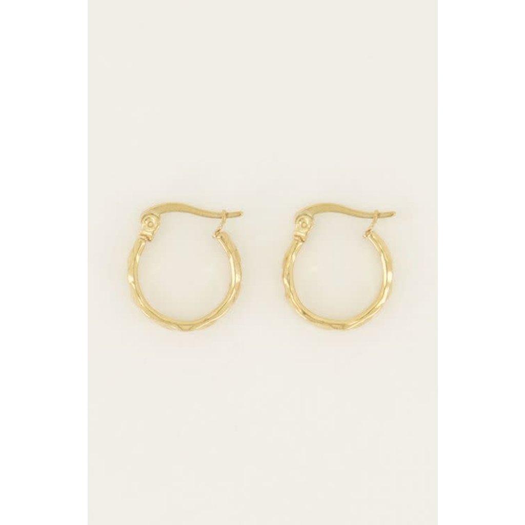 My Jewellery Oorringen klein patroon