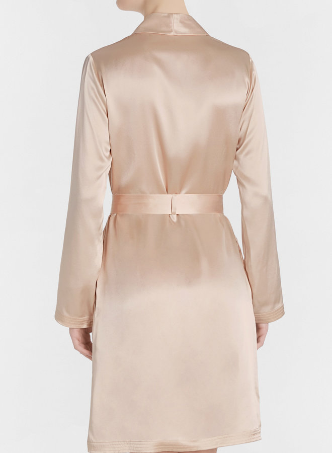 La Perla Silk Robe Short