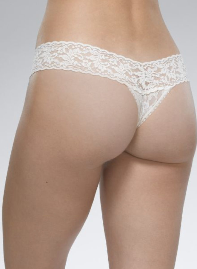 Hanky Panky Lace Low-Rise Thong
