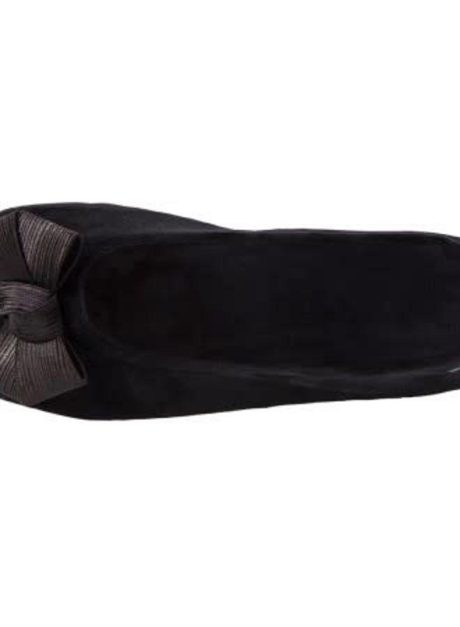 Isotoner Pantoffels Satijnen Strik