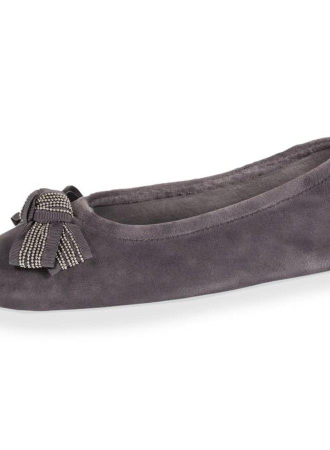 Isotoner Pantoffels Luxe Strik