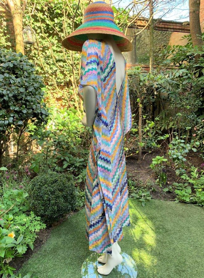 Missoni Mare Crochet-Knit Lange Jurk