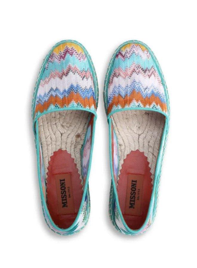 Missoni Crochet-Knit Espadrilles