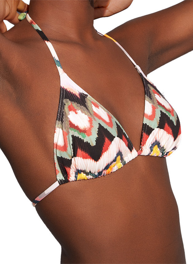 Eres Ikat Chardon Bikini-Top