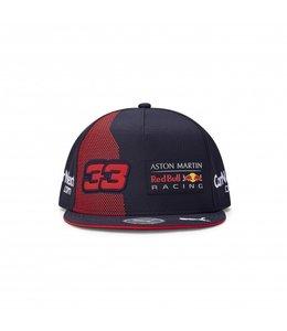"""Red Bull Racing 2020 Driver """"Max 33"""" Flat Brim Cap"""