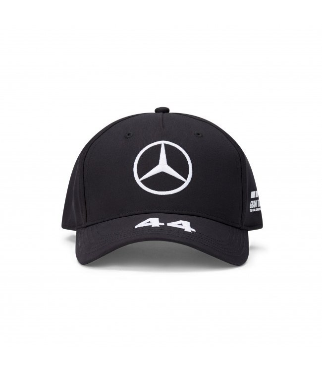 Mercedes AMG Petronas AMG F1 Lewis Hamilton Driver Cap Black Adult  Collection 2020