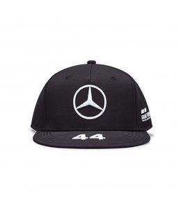 Mercedes AMG Petronas AMG F1 2020 Lewis Hamilton Driver Cap Flatbrim Black Adult