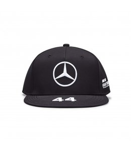 Mercedes AMG Petronas F1 2020 Lewis Hamilton Driver Cap Flatbrim Black Adult