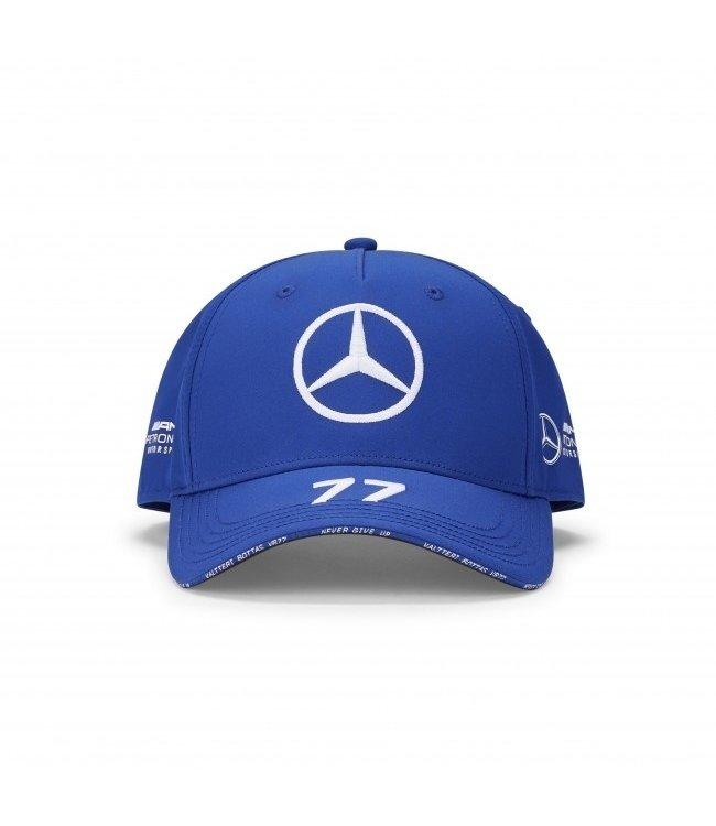 Mercedes AMG Petronas AMG F1 Valtteri Bottas Driver Cap Blue Adult  Collection 2020