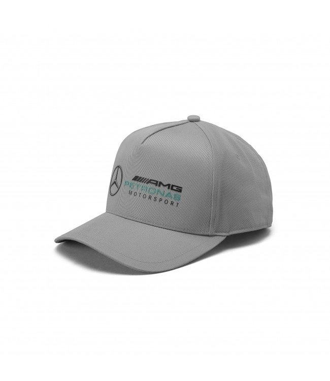 Mercedes AMG Petronas AMG F1 Racer Baseball Cap Gray Adult Collection 2020