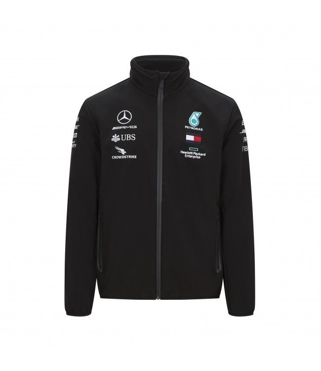 Mercedes AMG Petronas AMG F1 Team Softshell Adult Collectie 2020