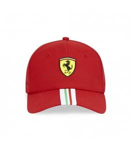 Ferrari F1 2021 Team Italian Flag Cap Red Adult