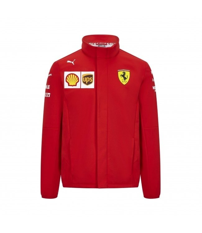 Ferrari F1 Team Scuderia Softshell Jacket Adult Collectie 2020