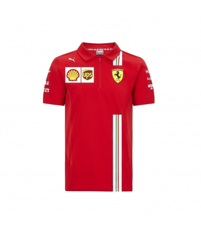 Ferrari F1 Team Polo Kids Collectie 2021