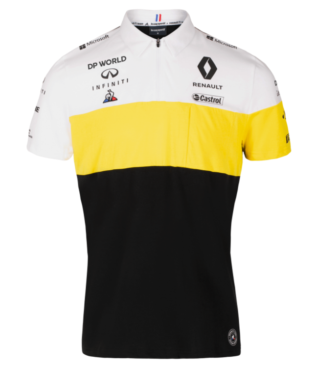 Renault Formula 1 Adult Team Polo - Collection 2020