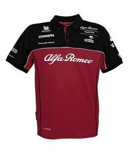 Alfa Romeo Formula 1 2020 Adult Team Polo